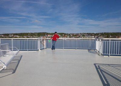 Fährschiff nach Horten, Norwegen