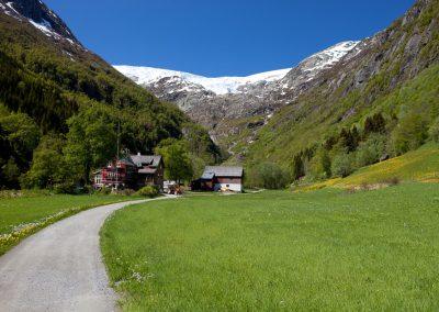 Gletscherblick, Norwegen