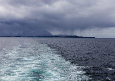 Regen auf See, Norwegen