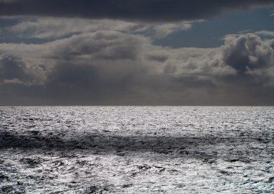 Gewitterstimmung am Meer, Norwegen
