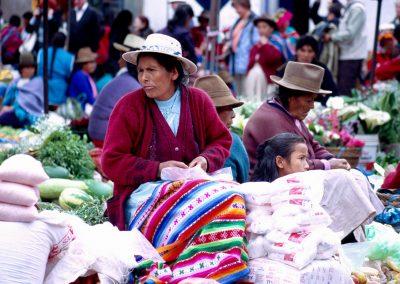 Marktfrau, Peru