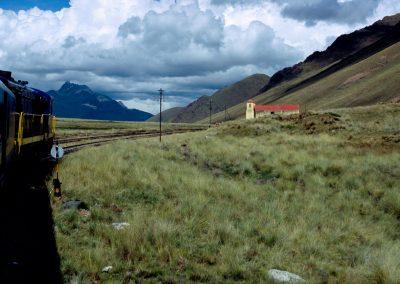 Eisenbahn zum Titicacasee, Peru