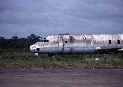 Flugzeugwrack, Iquitos, Peru