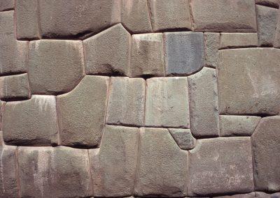 Steinwand in Cusco, Peru