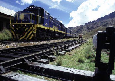 Eisenbahn zum Titikakasee, Peru
