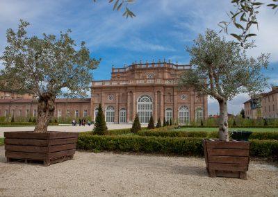 Schloss, Piemont, Italien