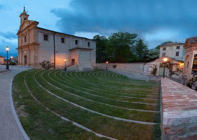 Dirfkirche, Piemont, Italien