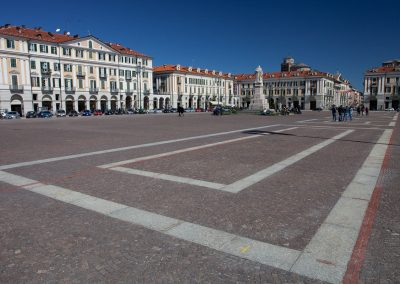 Hauptplatz, Piemont, Italien