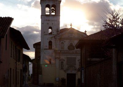 Kirche, Piemont, Italien