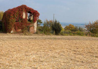 Ruine, Piemont, Italien