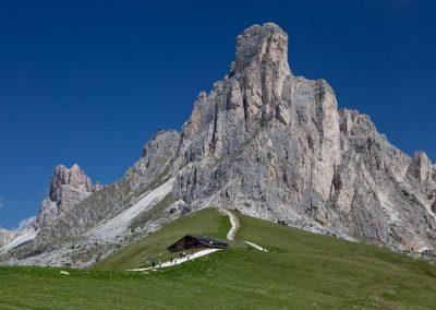Passo di Giau nahe Cortina d'Ampezzo, Italien