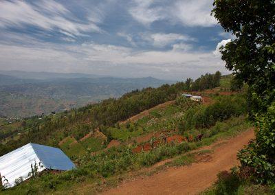 Landschaft, Ruanda