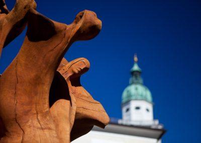 Skulpur und Dom, Salzburg