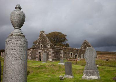 Ruine, Schottland