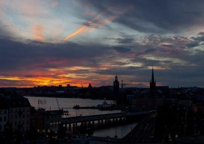 Blick auf Kungsholmen, Stockholm, Schweden