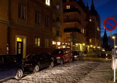 Nacht, Stockholm, Schweden