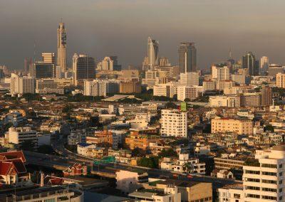 Blick über Bangkok, Thailand