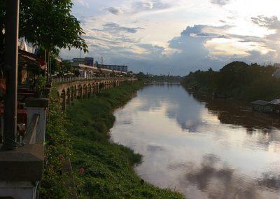 Fluss, Thailand