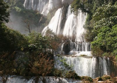 Thilawasu Wasserfall, Thailand