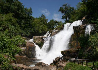 Wasserfall im Norden Thailands