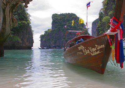 Bucht nahe Kho Phi Phi, Thailand