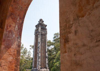 Königsgrab Tu Duc nahe Hue, Vietnam
