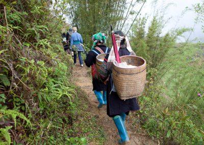 Berge, Sa Pa, Vietnam