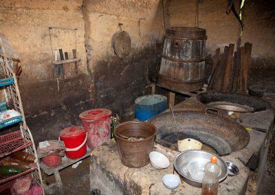 Küche einfacher Bauern, Sa Pa, Vietnam