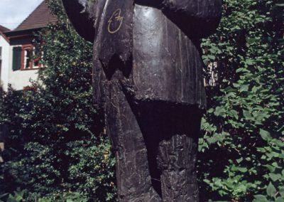 Steinfigur, Basel