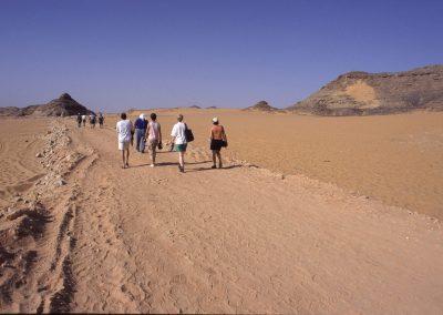 Am Nassa-Stausee, Ägypten