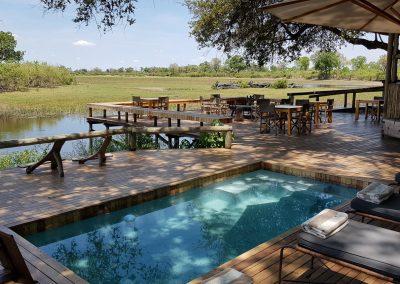 Botswana, Sawuti-Camp